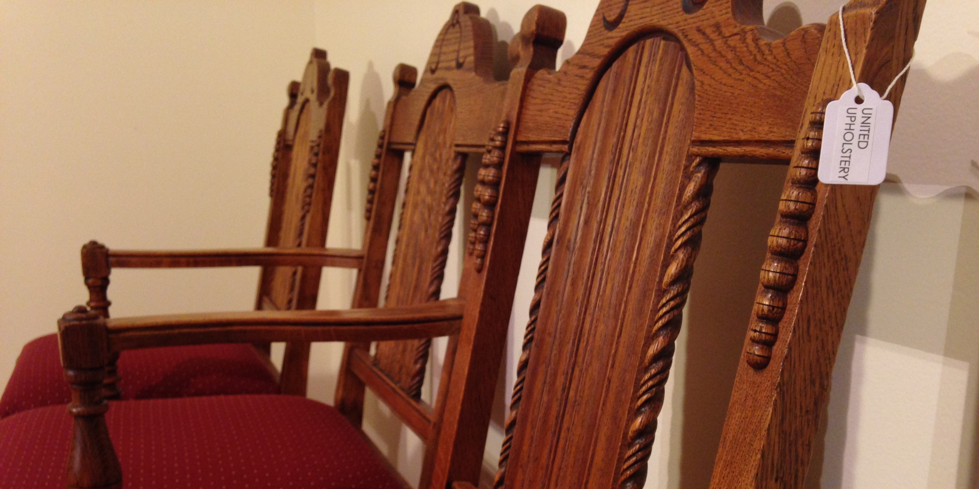 dining room chair repair and reupholstery