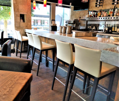 Restaurant and Bar Stools Upholstered, Reupholstered, and Recovered by United Upholstery