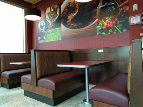 Restaurant, Bar, Coffee Shop Booths Reupholstered by United Upholstery