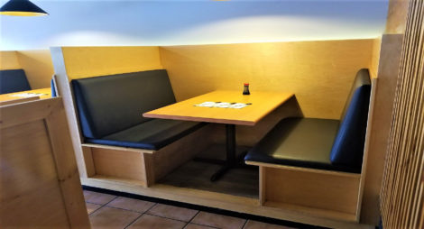 Custom Restaurant Booth Upholstery by United Upholstery