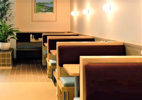 Custom Japanese Restaurant Booths Upholstered by United Upholstery