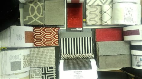 Custom Nook Fabric Options at United Upholstery