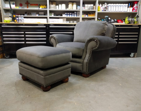 Chair and Ottoman Foam Replacement by United Upholstery